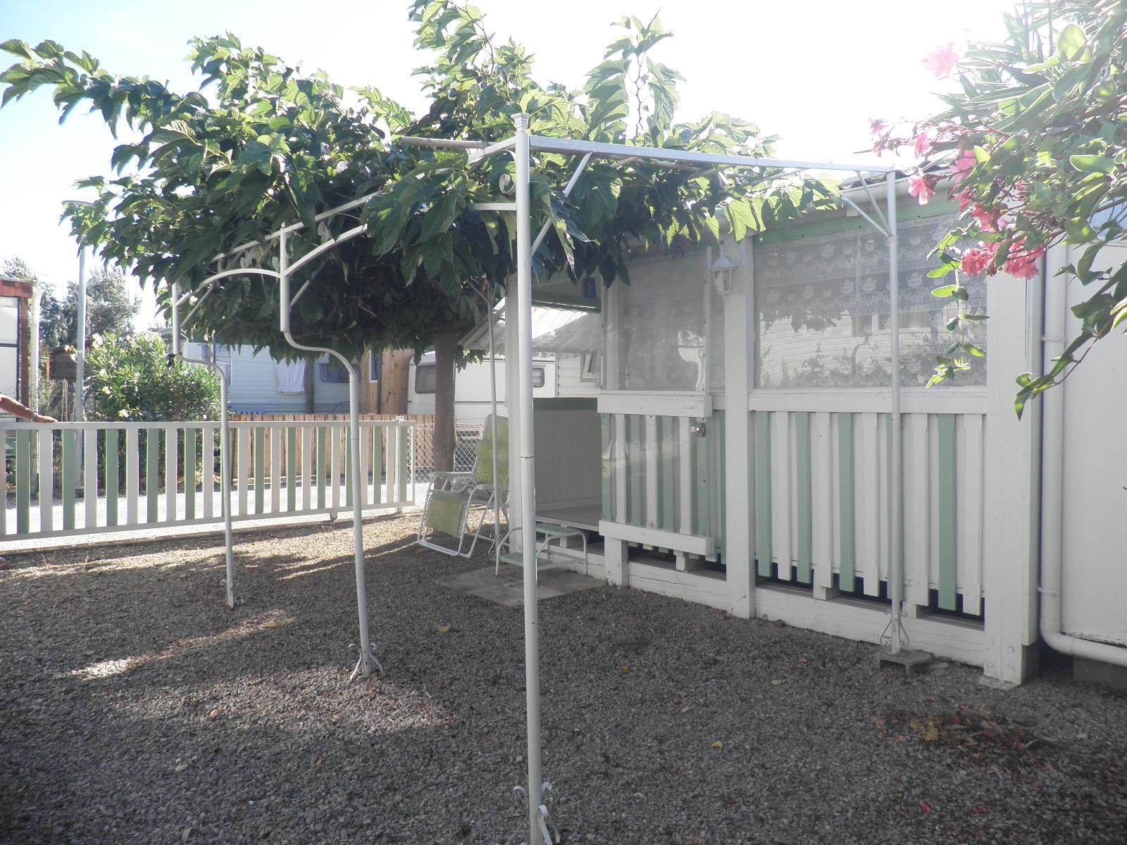 Vente sigean vendre mobil home quip avec jardin - Mobil home dans son jardin ...